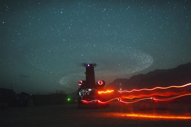 <p>Paratroopers from Chosen Company of the 3rd Battalion (Airborne), 509th Infantry board a waiting CH-47 Chinook helicopter as they begin a helicopter assault mission at Combat Outpost Herrera in Afghanistan's Paktiya Province, July 15, 2012. (Photo: Lucas Jackson/Reuters) </p>