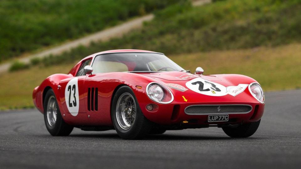 1962 Ferrari 250 GTO - most expensive car ever sold at auction