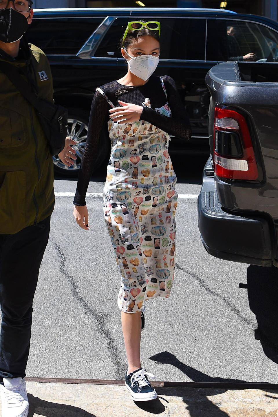 """<h1 class=""""title"""">Celebrity Sightings In New York City - May 14, 2021</h1><cite class=""""credit"""">Robert Kamau/GC Images via Getty</cite>"""