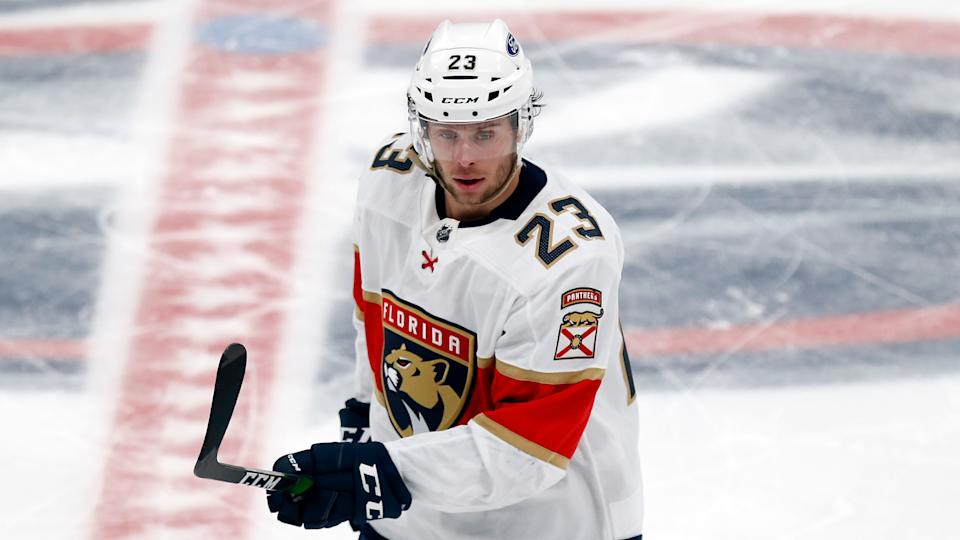 Florida Panthers forward Carter Verhaeghe