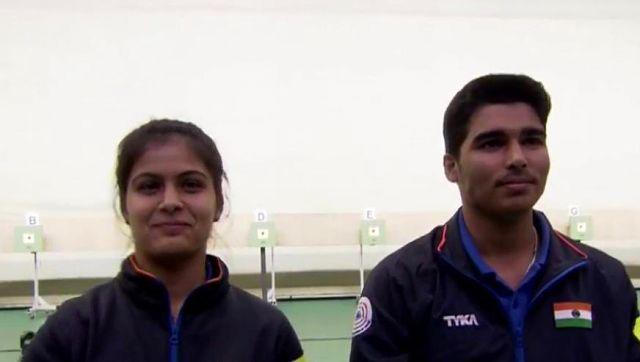 The pair of Manu Bhaker and SaurabhChaudhary missed out on the medal of the 10m Air Pistol Mixed Team event, having finished at a lowly seventh place during the qualification stage 2. Twitter @OfficialNRAI