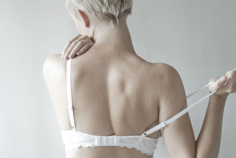 One lingerie label has revealed the correct way to put on your bra [Photo: Getty]