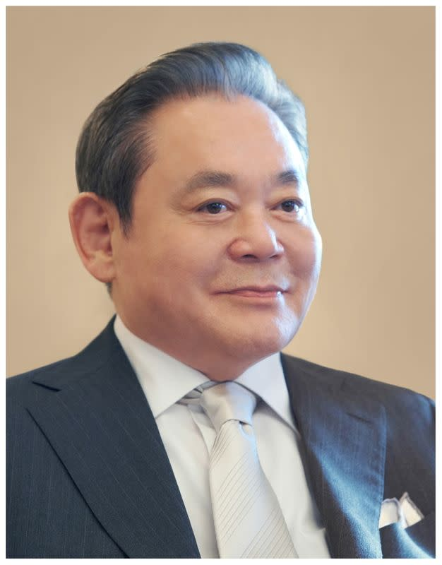 Samsung group chairman Lee Kun-hee