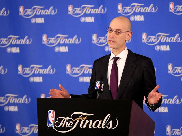Adam Silver explains. (Getty Images)
