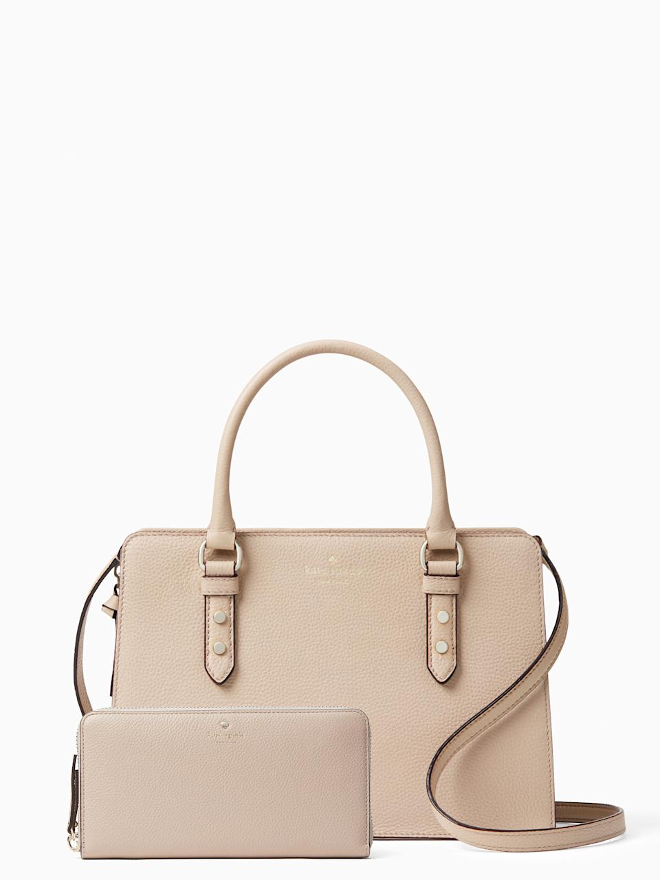 Save with bundles - The Mulbery Lise and Larchement Avenue Neda - $159 at Kate Spade using code MAKEITTWO.