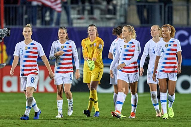 The U.S. defense is strong but not impenetrable. (Getty)