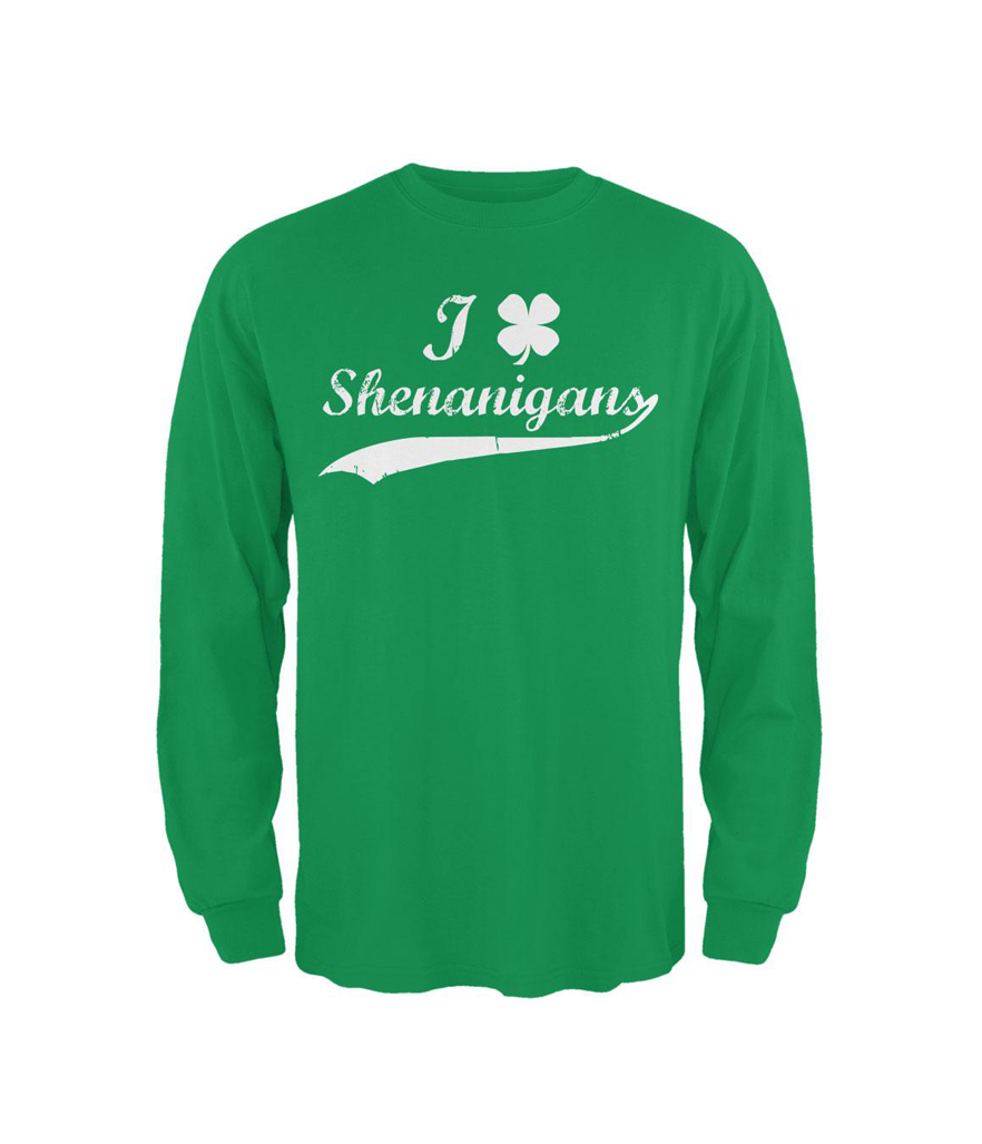 Holiday St. Patrick's Day Shamrock Shenanigans T-Shirt (Photo: Walmart)