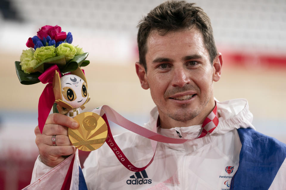 Van Gass, 35, stormed to a searing world record to cap an emotional turnaround in Tokyo