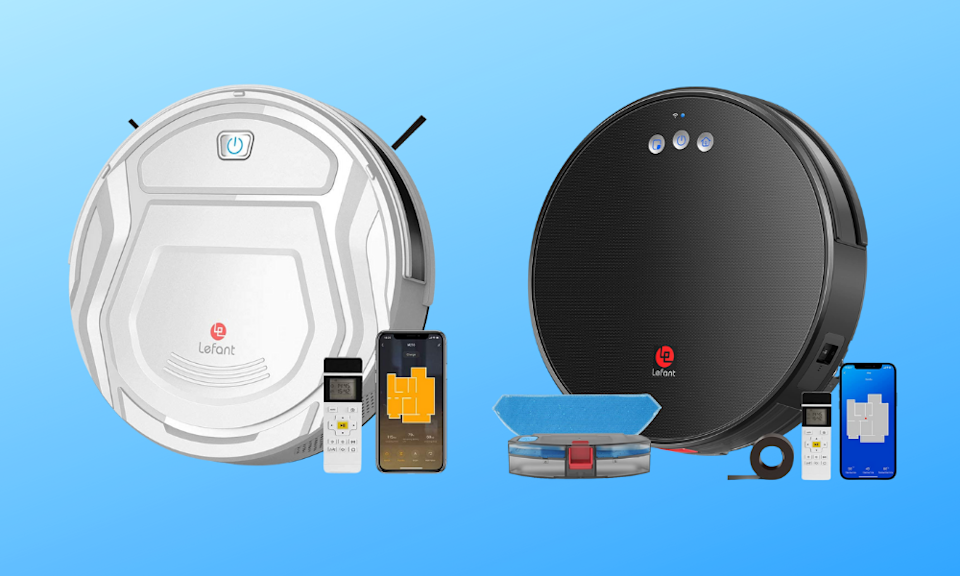 Save up to $300 off Lefant robo vacuums today! (Photo: Amazon)