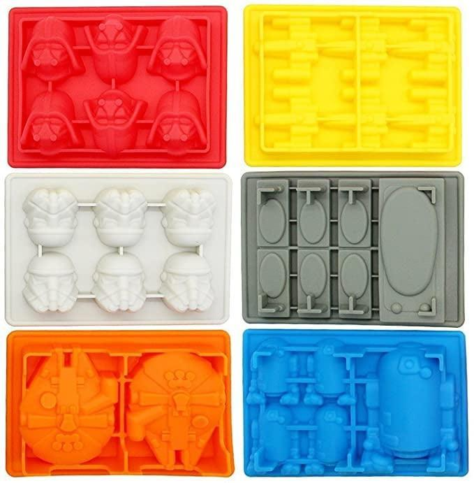 <p>Make cool ice cubes, soaps, lotion bars, chocolate treats, and more with <span>Silicone Ice Trays/Chocolate Molds, Set of 6</span> ($27).</p>