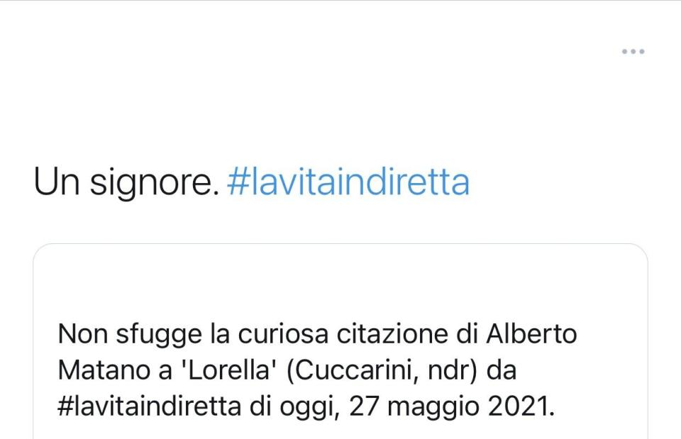 Commento twitter