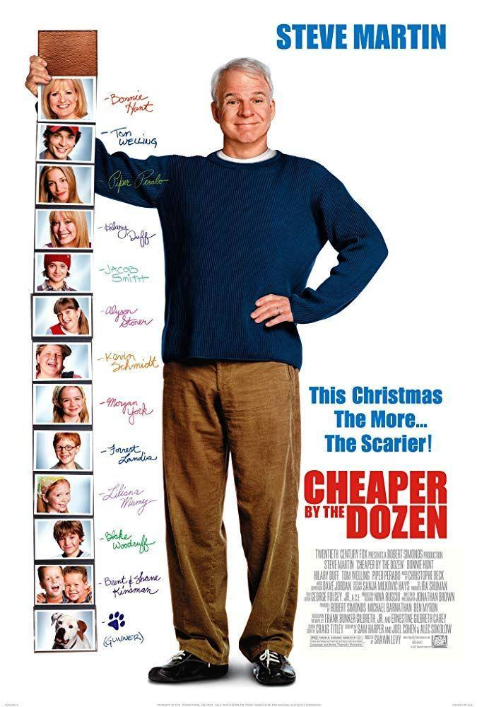 """<p><a class=""""link rapid-noclick-resp"""" href=""""https://www.amazon.com/Cheaper-Dozen-Steve-Martin/dp/B000QDXX4G?tag=syn-yahoo-20&ascsubtag=%5Bartid%7C10050.g.26871507%5Bsrc%7Cyahoo-us"""" rel=""""nofollow noopener"""" target=""""_blank"""" data-ylk=""""slk:STREAM NOW"""">STREAM NOW</a></p><p>While Mom is away the kids will... run wild! Steve Martin stars in this remake of the 1950 original as a dad who has quite the time handling his 12 kids while his wife working.</p>"""