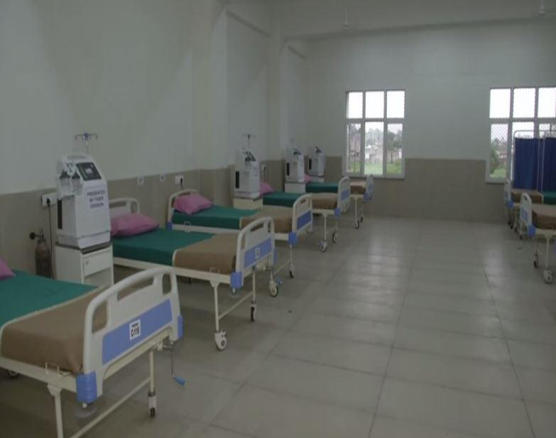 Indian Army's Tiger Division sets up 25-bedded oxygen COVID care center in Jammu