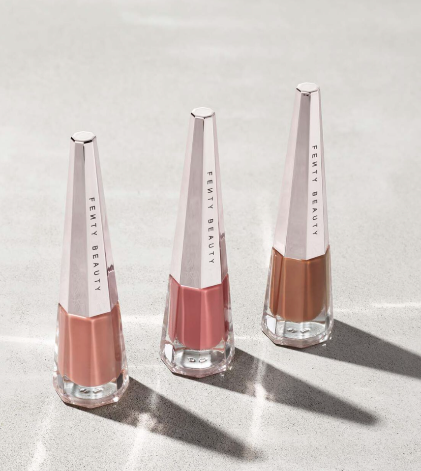 """<h2><a href=""""https://www.fentybeauty.com/"""" rel=""""nofollow noopener"""" target=""""_blank"""" data-ylk=""""slk:Fenty Beauty"""" class=""""link rapid-noclick-resp"""">Fenty Beauty</a></h2><br>We cannot do a round-up of Black women ran businesses without giving <a href=""""https://www.refinery29.com/en-us/2020/11/10186808/rihanna-black-panther-sequel-casting-rumors"""" rel=""""nofollow noopener"""" target=""""_blank"""" data-ylk=""""slk:Bad Gal Ri Ri"""" class=""""link rapid-noclick-resp"""">Bad Gal Ri Ri</a> her flowers. Three years ago, instead of a new album, the mega pop star gifted us with top-quality inclusive cosmetics and built a makeup empire. <br><br><strong>Here's The Deal:</strong> This year, take <strong>30% off all Fenty Beauty orders</strong> and get a free gift when you spend $75+ on Rihanna's new line, <a href=""""https://www.fentybeauty.com/fentyskin"""" rel=""""nofollow noopener"""" target=""""_blank"""" data-ylk=""""slk:Fenty Skin"""" class=""""link rapid-noclick-resp"""">Fenty Skin</a>. <br><br><em>Shop</em> <strong><em><a href=""""https://www.fentybeauty.com/"""" rel=""""nofollow noopener"""" target=""""_blank"""" data-ylk=""""slk:Fenty Beauty"""" class=""""link rapid-noclick-resp"""">Fenty Beauty</a></em></strong><br><br><strong>Fenty Beauty</strong> Stunna Boss Nudes Longwear Fluid Lip Color Trio, $, available at <a href=""""https://go.skimresources.com/?id=30283X879131&url=https%3A%2F%2Ffave.co%2F3pSUnoF"""" rel=""""nofollow noopener"""" target=""""_blank"""" data-ylk=""""slk:Fenty Beauty"""" class=""""link rapid-noclick-resp"""">Fenty Beauty</a>"""