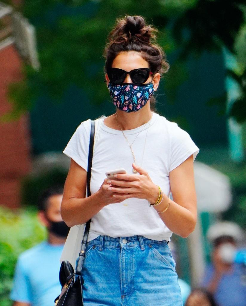 """<h1 class=""""title"""">Celebrity Sightings In New York City - July 17, 2020</h1> <div class=""""caption""""> Getty </div> <cite class=""""credit"""">Gotham</cite>"""
