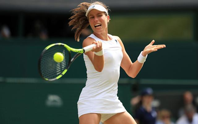 Johanna Konta has written a plea for more equality in tennis - PA