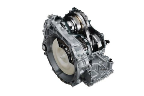 JATCO CVT8 accommodates 2.0-3.5 liter engines with the best in class range of gear ratios and 10% be ...
