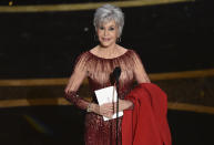<p>This year's telecast will not feature a host, similar to the 2019 and 2020 ceremonies. Instead, a bevy of big-name presenters will introduce winners and hand out awards, including 2020 winners like ... (Chris Pizzello/AP Photo)</p>
