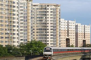 MRT next to condo