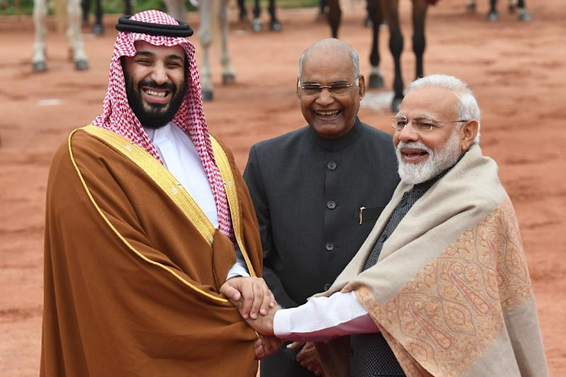 Saudi crown prince looks for 'good things' from India trip