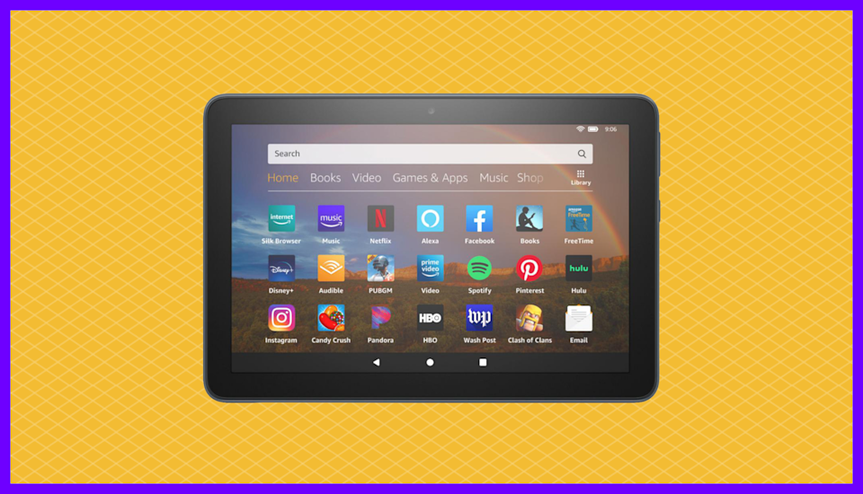 Save 41 percent on the Fire HD 8 Plus and get some free goodies courtesy of HSN. (Photo: Amazon)