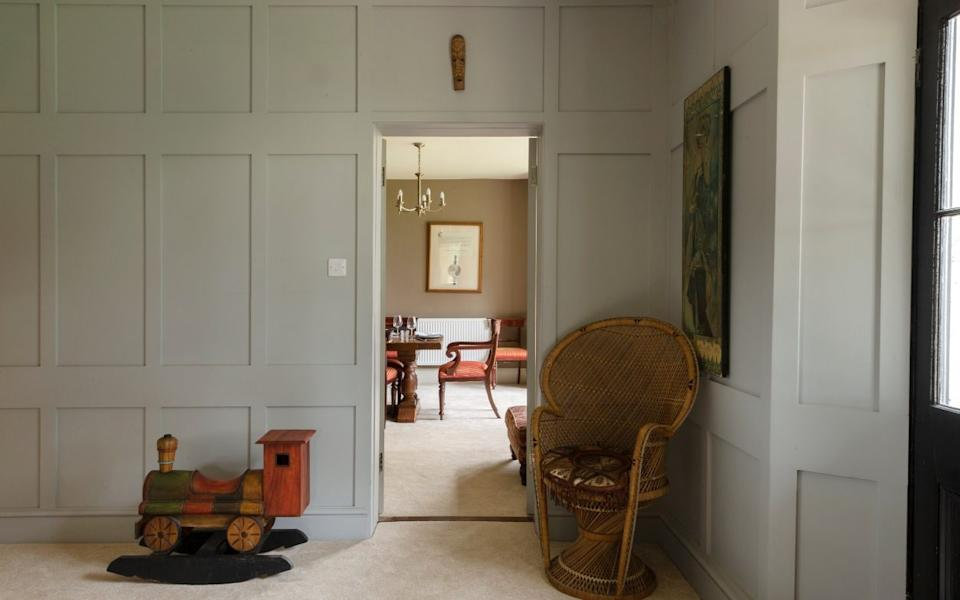 The house dates from the 1900s but had been modernised before the family moved in - Emma Lewis