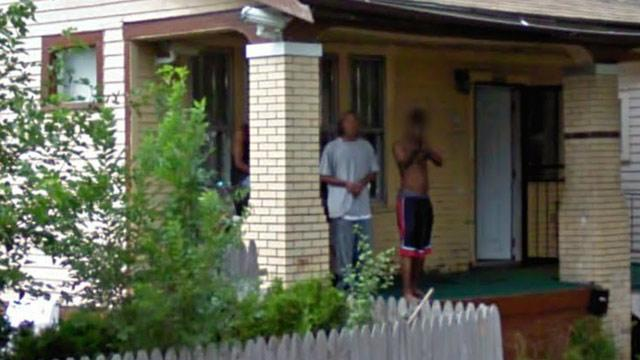 Google Camera Captures Man Pointing Gun From What Looks Like House Where Infant Found Dead