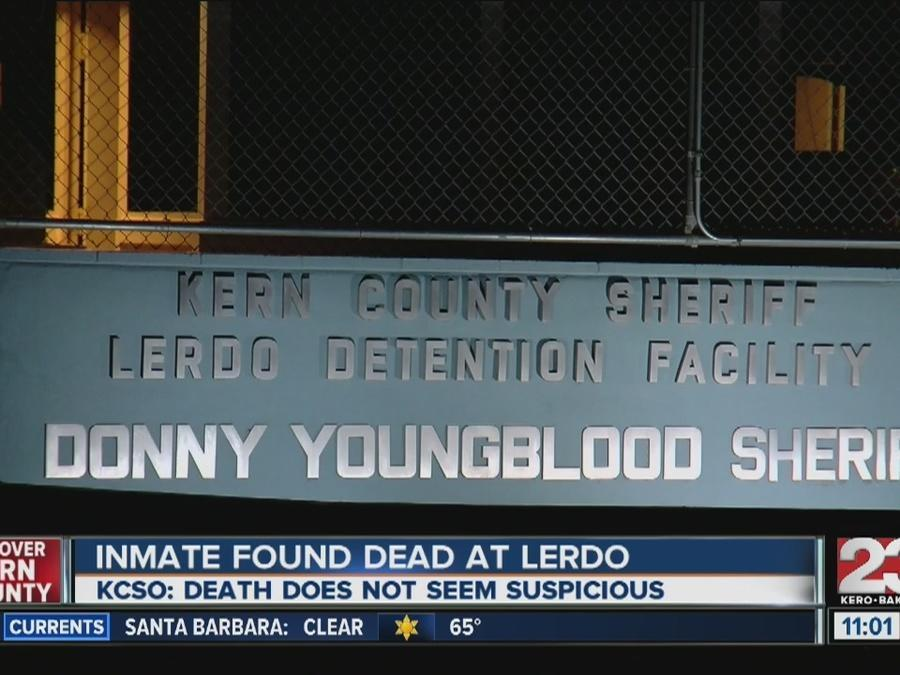 KCSO: Inmate death at Lerdo jail