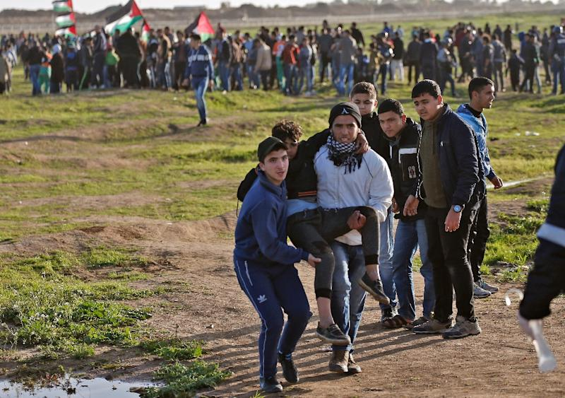 Palestinian Teen Shot by Israeli Sniper Fire in Gaza