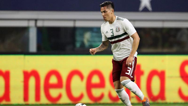 Mexico defenders Salcedo, Araujo back in training with clubs after injuries