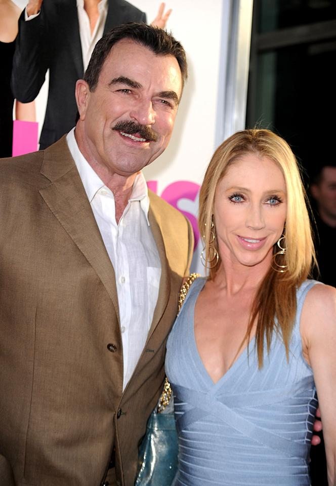"<a href=""http://movies.yahoo.com/movie/contributor/1800019593"">Tom Selleck</a> and Jillie Mack at the Los Angeles premiere of <a href=""http://movies.yahoo.com/movie/1810076153/info"">Killers</a> - 06/01/2010"