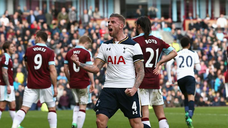 Toby Alderweireld Tottenham Burnley 01042017