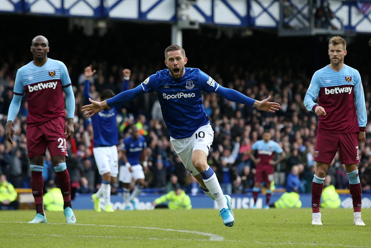 Sigurdsson secures much needed win for Everton over lacklustre West Ham