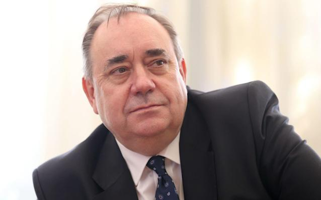 Alex Salmond denies all the charges against him - PA