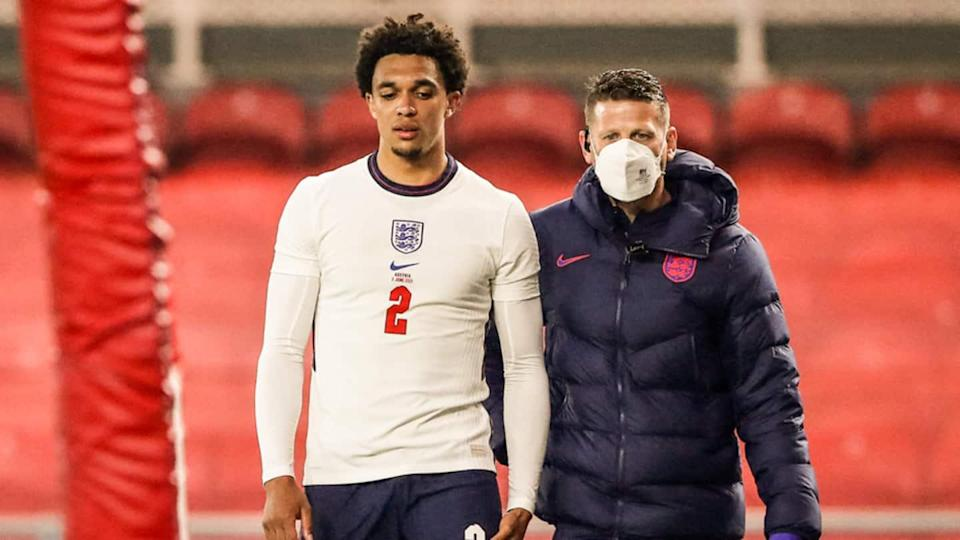England right-back Trent Alexander-Arnold ruled out of Euro 2020