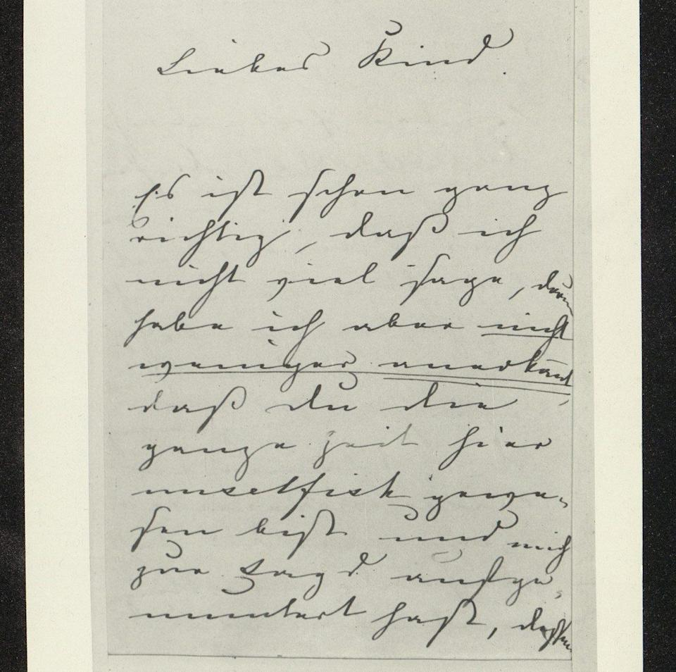 The letters, from between 1855 and 1861, show Albert admonishing Victoria for her behaviour during arguments