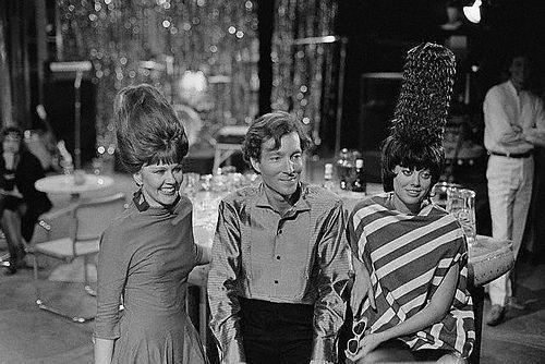 """<p>The B-52s enjoyed time onscreen throughout a whole episode of <em>Guiding Light</em> back in 1982. They performed two songs: """"Throw That Beat In The Garbage Can"""" and """"Private Idaho."""" They also talked to residents and basically had a good time playing themselves. <br></p>"""