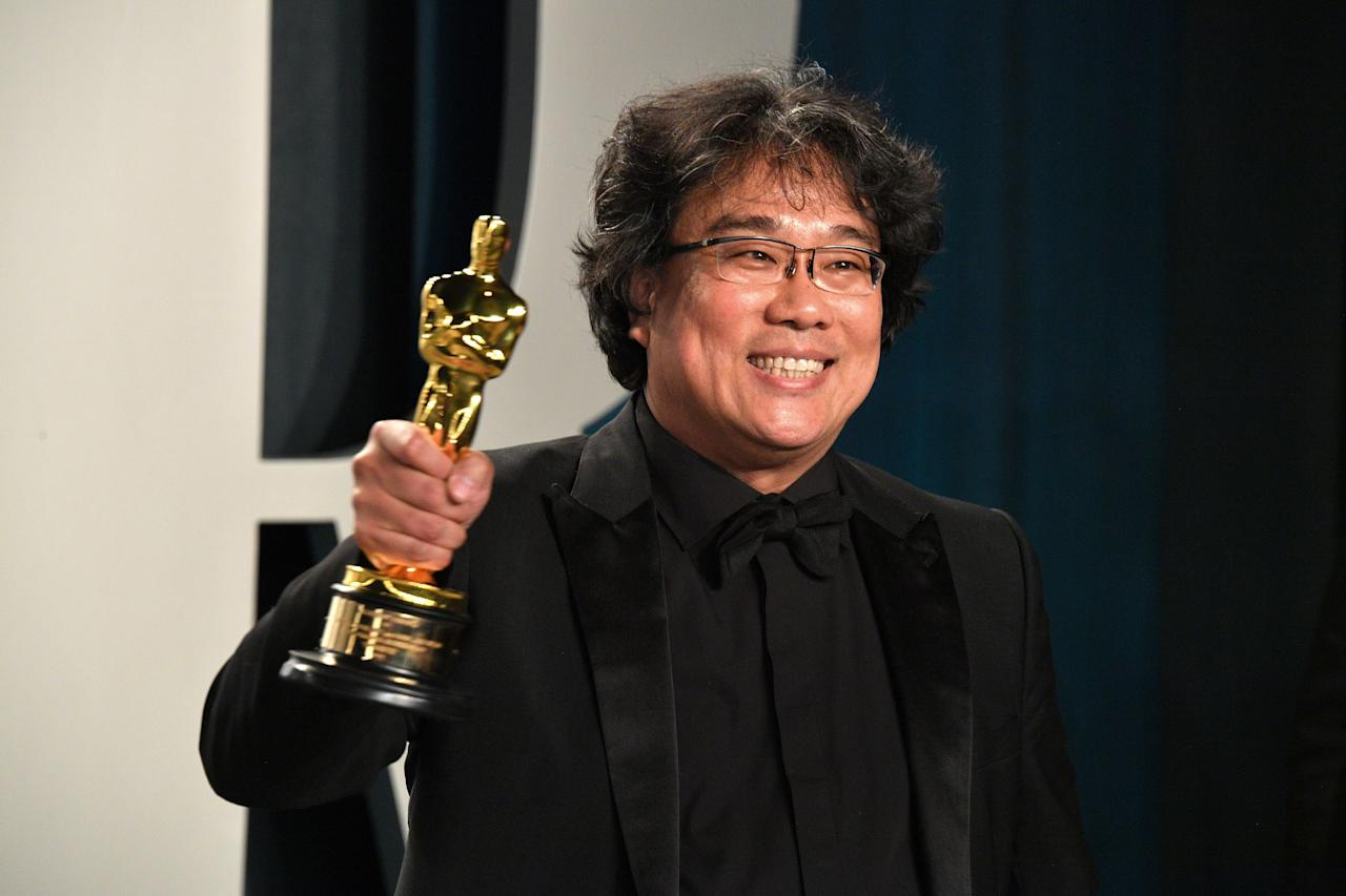 """<p>Whether you've known the name Bong Joon Ho for years, or you heard his name at the 92nd Academy Awards for the first time (as he was winning not one, not two, but <em>four </em>Oscars), one thing is now bringing us all together: we're interested in him and his latest film, <em><a href=""""https://www.menshealth.com/entertainment/a30420127/parasite-movie-bong-joon-ho/"""" target=""""_blank"""">Parasite</a>. </em>And while <em>Parasite </em>is spectacular, it's far from Bong's first entry into the world of auteur film. He's been making movies for 20 years, and has six other feature films that are all available to stream online whenever you feel like clicking. Bong is not only a master in the present, but his six pre-<em>Parasite </em>films jump languages and genres; each one different from the last. </p><p>On this list, we've pulled together every feature film that Bong has directed, including <em>Parasite, Okja, Snowpiercer, Mother, The Host, Memories of Murder, </em>and <em>Barking Dogs Don't Bite. </em>Watching all 7 films is a decent-sized endeavor, but look at it this way: that's less than half of the Marvel Cinematic Universe, and only slightly more than the first two <em>Star Wars </em>trilogies. You can do this. <em></em><em></em><em></em> </p><p>And while it's exciting that we can already stream <em>Parasite, </em>it's important to know that Bong's impressive repertoire from the last two decades are all accessible from your computer, streaming stick, phone—whatever floats your boat.  He's got six other feature films, and, as you'll read below, they're all worth your time. </p>"""