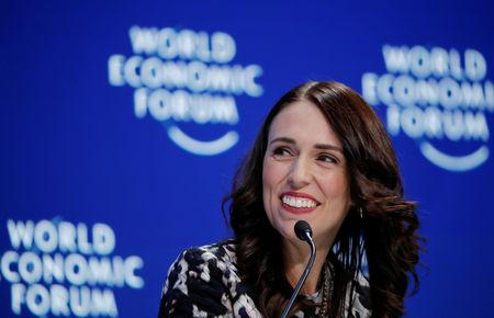 FILE PHOTO - 2019 World Economic Forum (WEF) annual meeting in Davos
