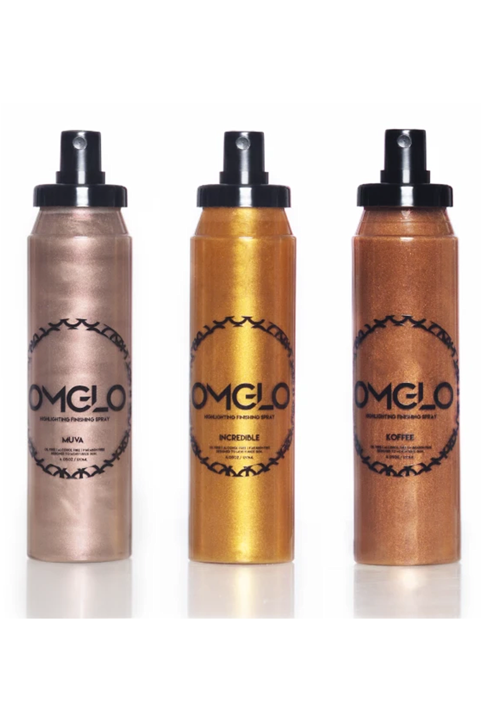 """<p>omglocosmetics.com</p><p><strong>$80.00</strong></p><p><a href=""""https://omglocosmetics.com/collections/sets/products/mulan-set"""" rel=""""nofollow noopener"""" target=""""_blank"""" data-ylk=""""slk:Shop Now"""" class=""""link rapid-noclick-resp"""">Shop Now</a></p><p>K, so you can—and should—be using these shimmery sprays year-round (they <strong>legitimately make your skin look phenomenal</strong>), but they're basically a requirement for Halloween when you can really load them up on your clavicles, arms, chest, and shins for a super-ethereal Halloween costume (I see you, <a href=""""https://www.cosmopolitan.com/style-beauty/beauty/a22092322/fairy-halloween-makeup-tutorial/"""" rel=""""nofollow noopener"""" target=""""_blank"""" data-ylk=""""slk:fairy makeup"""" class=""""link rapid-noclick-resp"""">fairy makeup</a>).</p>"""