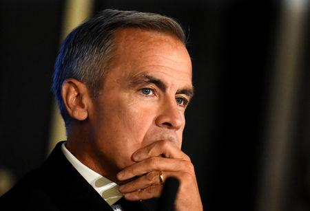 FILE PHOTO: Mark Carney, the Governor of the Bank of England, attends an event in Dublin