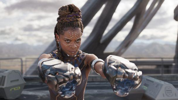 PHOTO: Lettia Wright in the movie 'Black Panther.' (Marvel Studios)
