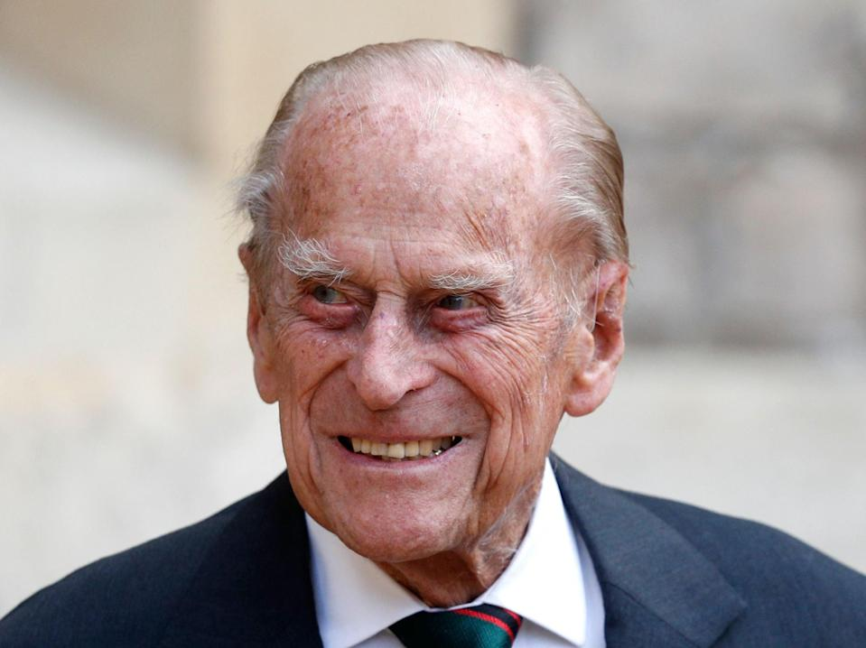 Prince Philip will remain in hospital for several days as he receives treatment for an infection, Buckingham Palace has confirmed (Adrian Dennis/Pool/AFP via Getty Images)
