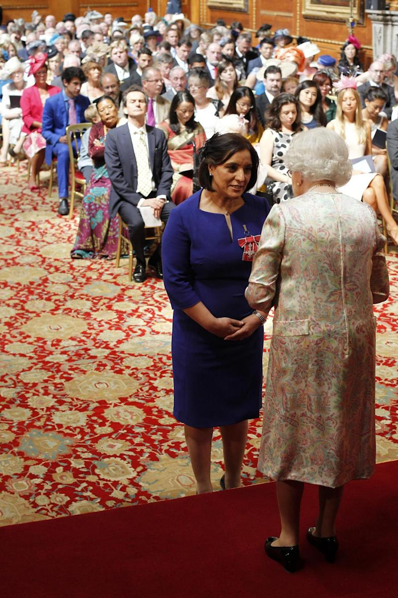 Det Con Hubbard is reportedly the first Muslim policewoman to be honoured by the Queen (PA Archive/PA Images)