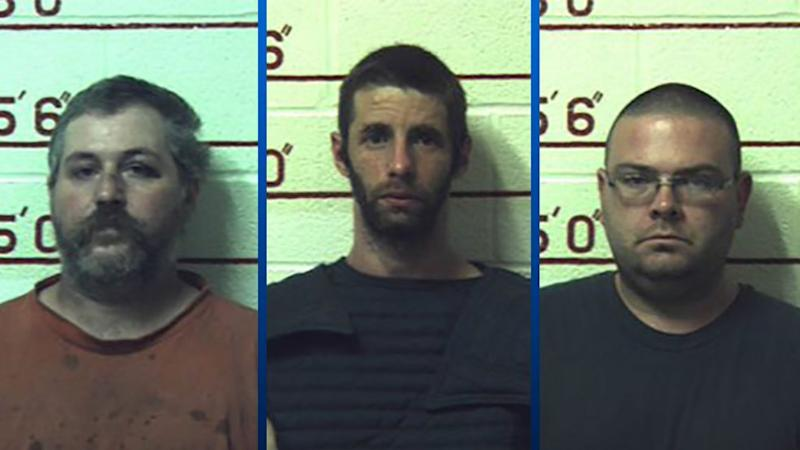 Terry J. Wallace, Matthew J. Brubaker and Marc Measnikoff. (Photo: District attorney, William Shaw JR)