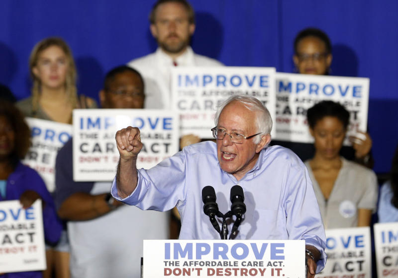 Bernie Sanders Announces Single-Payer Bill With Major Support In Senate
