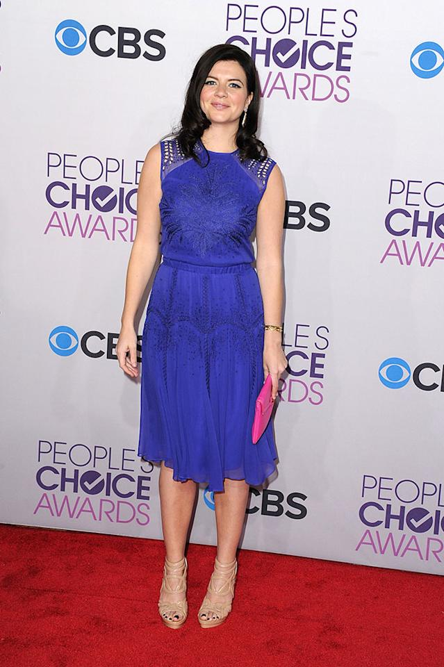 Casey Wilson attends the 2013 People's Choice Awards at Nokia Theatre L.A. Live on January 9, 2013 in Los Angeles, California.