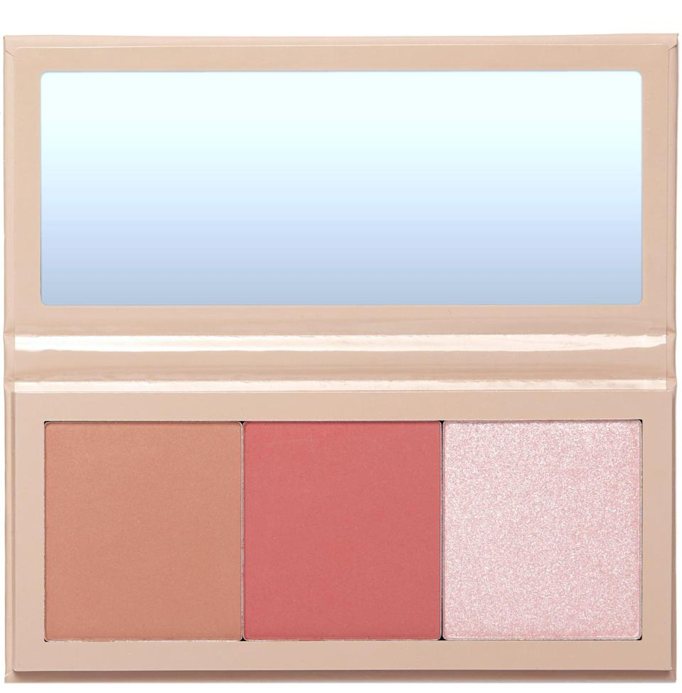 <p>For someone who is fair or pale like myself, the blush from the <span>KKW x Allison Face Palette in Ladera</span> ($38) is very flattering. I love the tone of the bronzer too and would even use it as eyeshadow.</p>