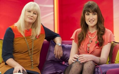 Susie Green and her daughter Jackie appear on Lorraine in 2011 - Credit: Rex