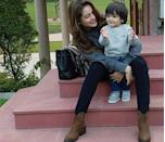 <p>If you have the ever so gorgeous Aamna Shariff for a mother, chances of you not looking like an absolute angel are non-existent. The 2 year old lad is an absolute delight to look at. This one will grow up to be a heartbreaker, we can tell already. </p>